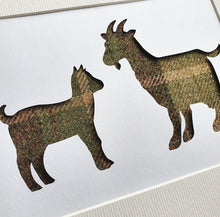 Load image into Gallery viewer, Goat & Kid in Tweed