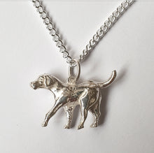 Load image into Gallery viewer, Hound Sterling Silver Necklace