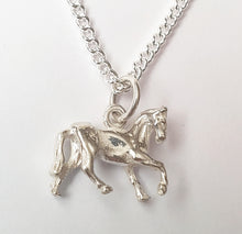 Load image into Gallery viewer, Horse Sterling Silver Necklace
