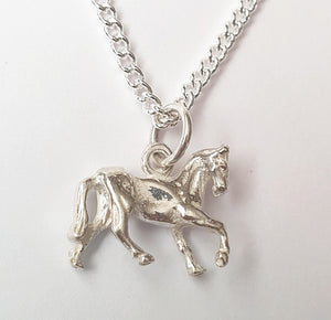 Horse Sterling Silver Necklace