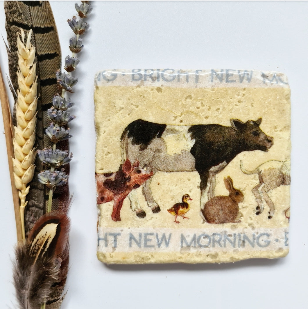 Bright new morning Coasters