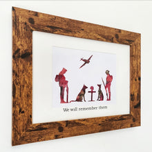 Load image into Gallery viewer, Limited Edition - Remembrance Day Frame
