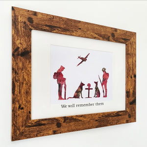 Limited Edition - Remembrance Day Frame