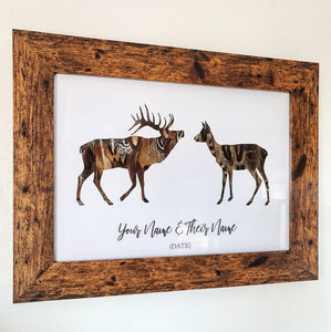 Stag and Doe - Personalised