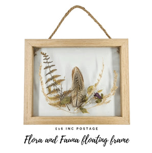 Flora Floating Frame (Outlet)