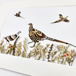 Feather & Foliage - Pheasant and Partridge