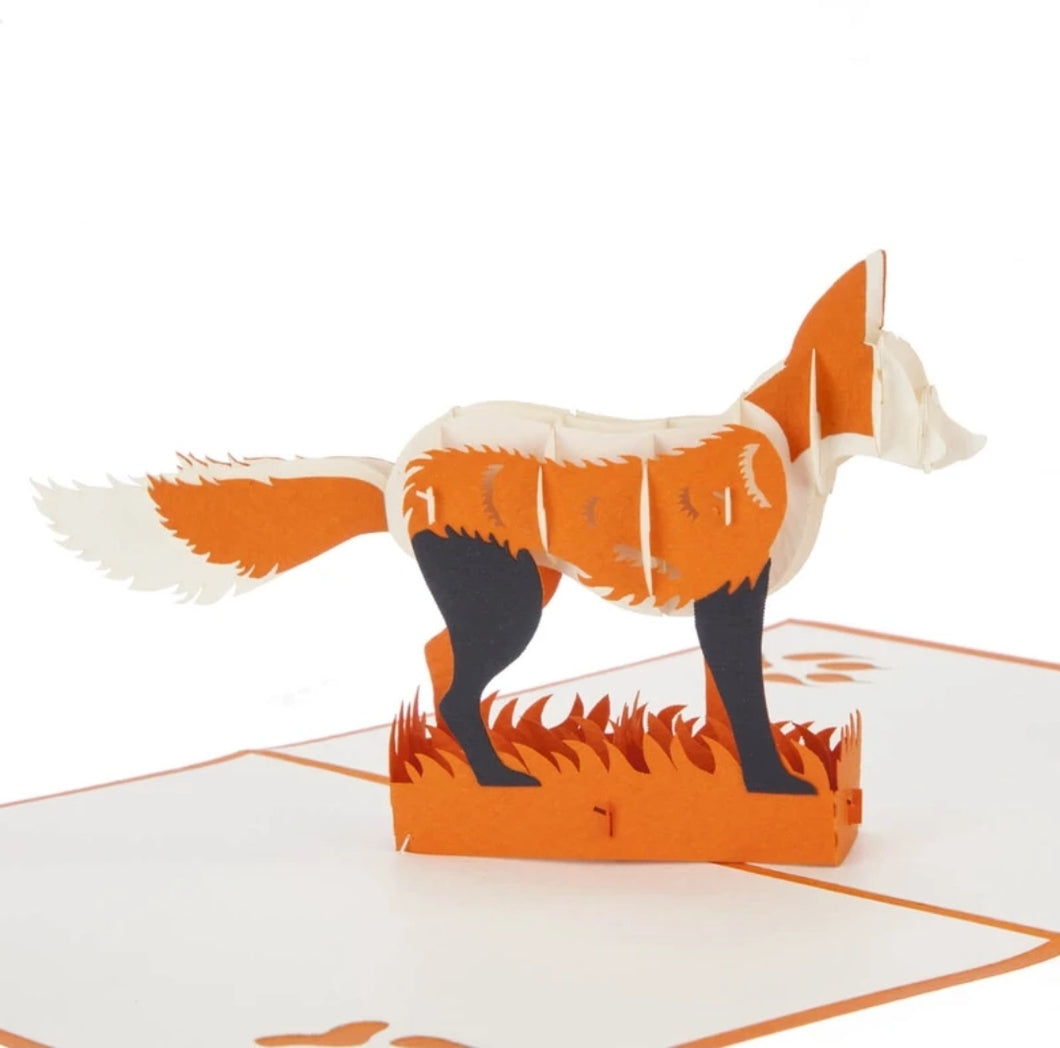Fox Pop Up Card