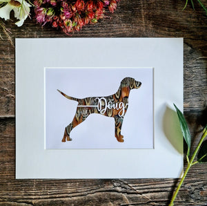 Personalised Dog with Name