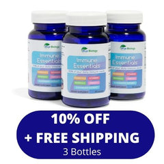10% off and free shipping for 3 bottles