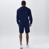 Towelling Short | Navy
