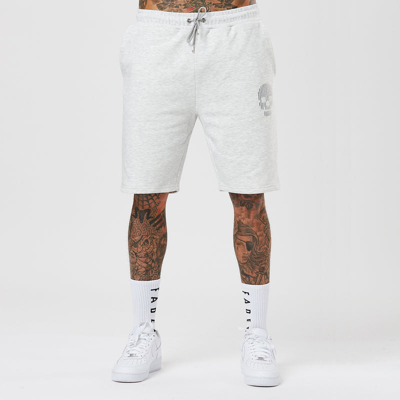 Mini Skull Short | Snow Marl
