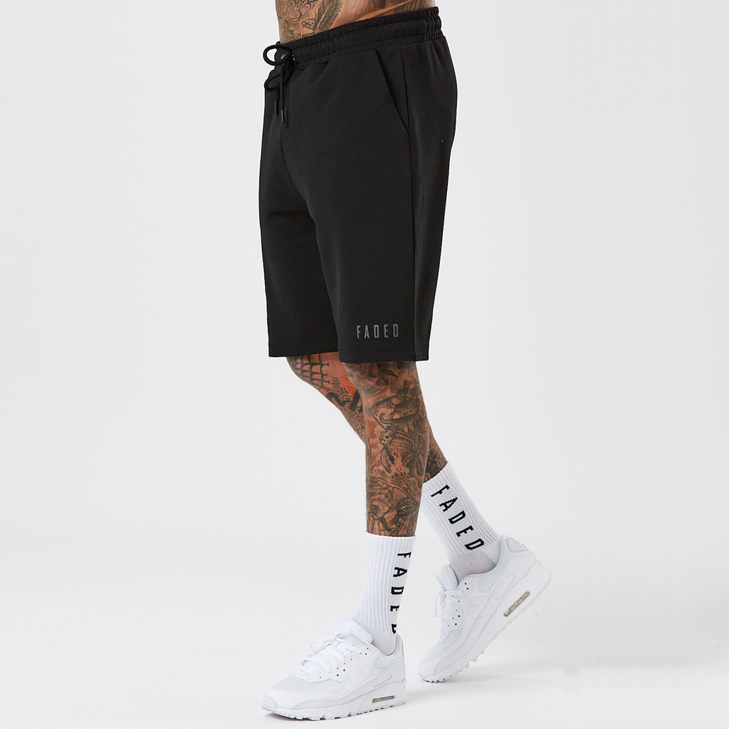 Faded Sport Short | Black