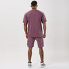 Washed Utility Short | Mauve