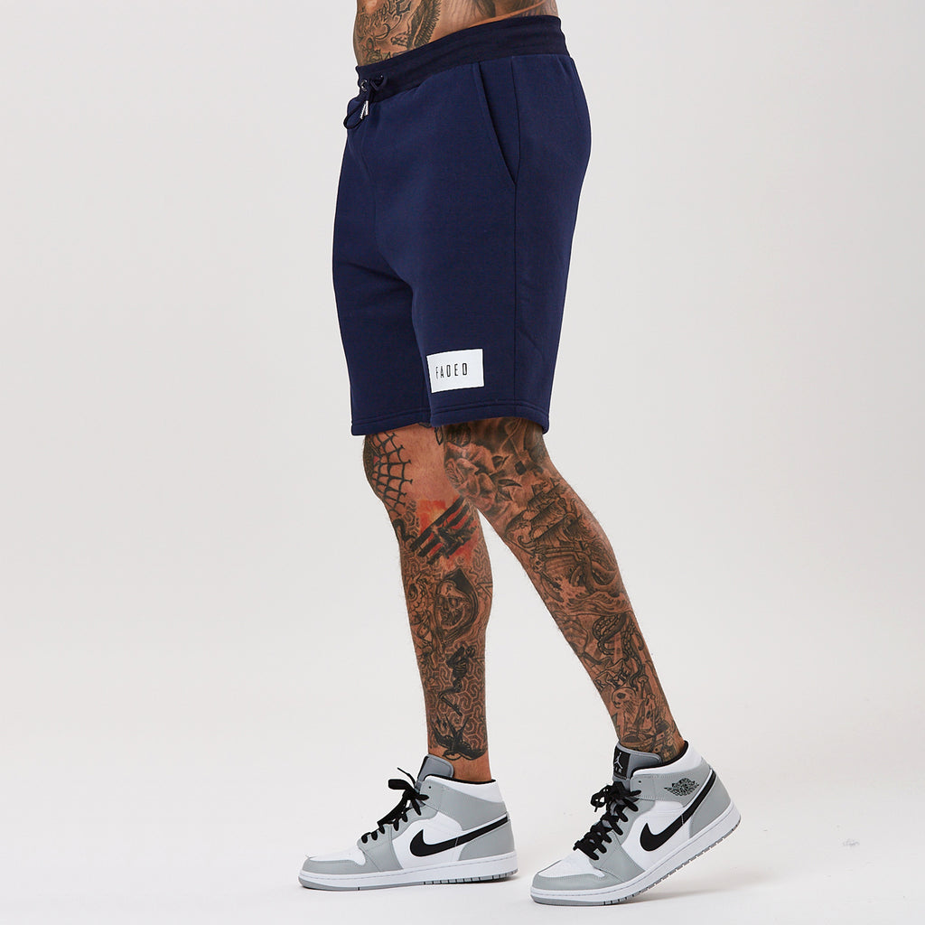 Box Logo Short | Navy