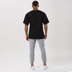 Oversized Arc Tee | Black