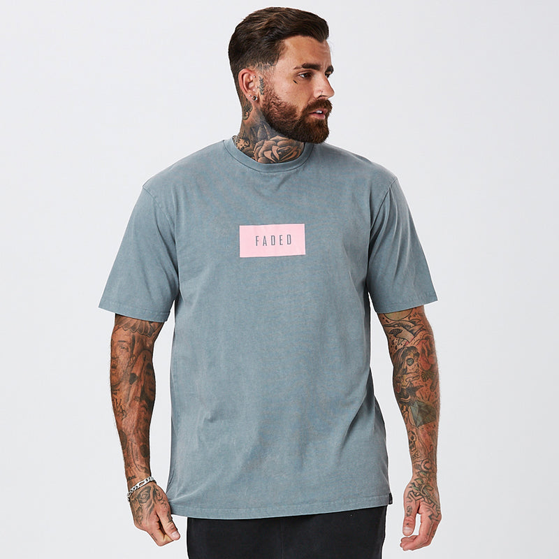 Box Logo Tee | Acid Wash