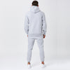 Back View of Male Model in Mens Full Classic Logo Tracksuit