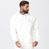 Male Model in Off-White Hoody From Skull Logo Full Tracksuit