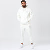 Male Model Wearing Mens Full Skull Logo Tracksuit in Off-White