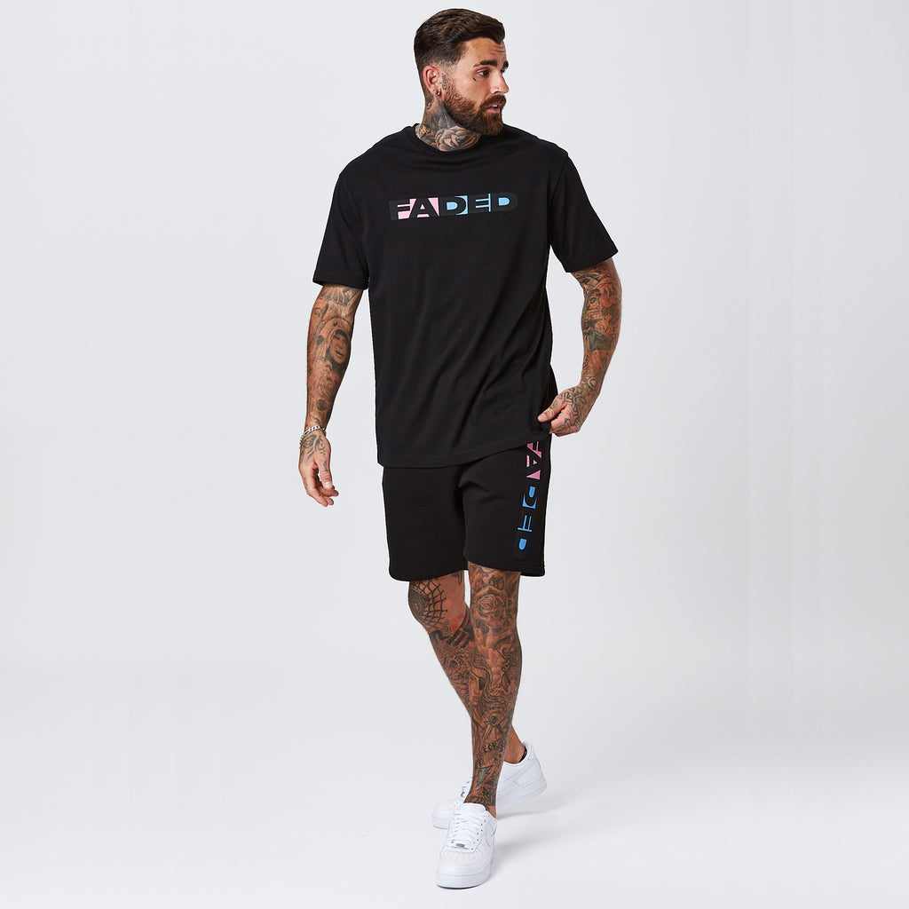 Shadow Logo Short | Black