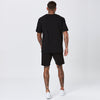 Inverted Logo Short | Black