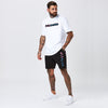 Shadow Logo Tee | White