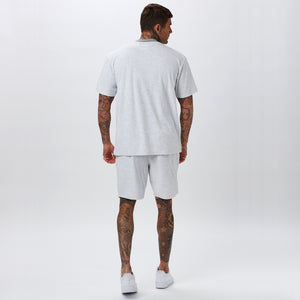 Towelling Short | Grey