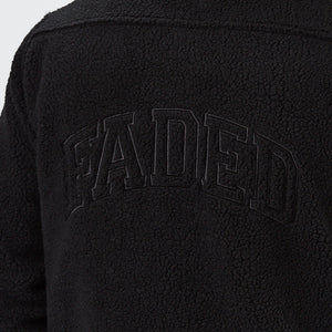 Teddy Fleece Jacket | Black