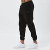 Male Model In Joggers From Black Polar Fleece Tracksuit