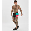 Retro Panel Swimshorts | Black