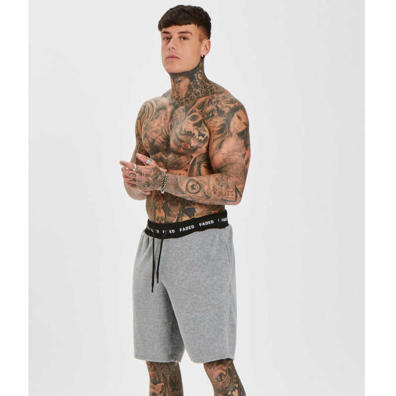 Towelling Shorts | Grey