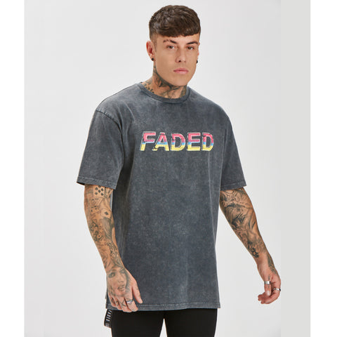 Retro Acid Wash Tee