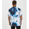 Ink Tee | White Blue