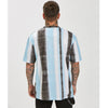 Paint Stripe Tee | Black Blue