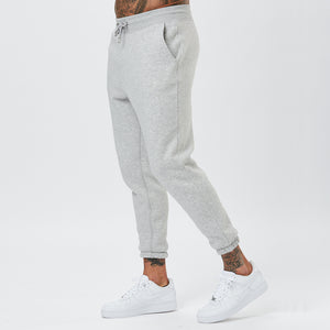 Male Model In Joggers From The Grey Mens Plain Tracksuit