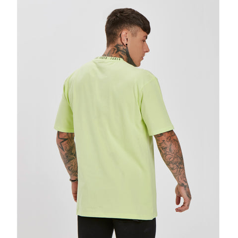 Washed Neon Ringer Tee