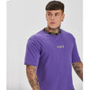 Ringer Tee | Purple