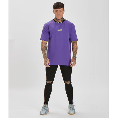 Purple Ringer Tee
