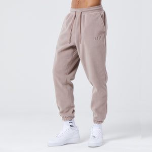 Polar Fleece Jogger | Brown