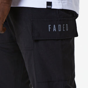 Patch Pocket Cargo Pant | Black