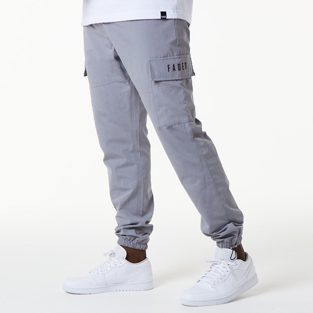 Patch Pocket Cargo Pant | Grey