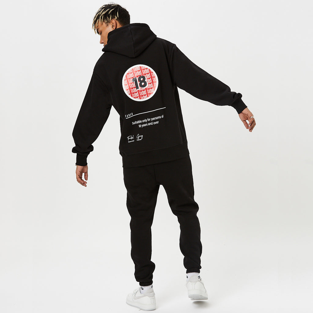 Rated Hoody | Black