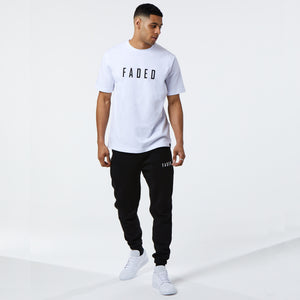 Classic Regular Fit Tee | White/Black