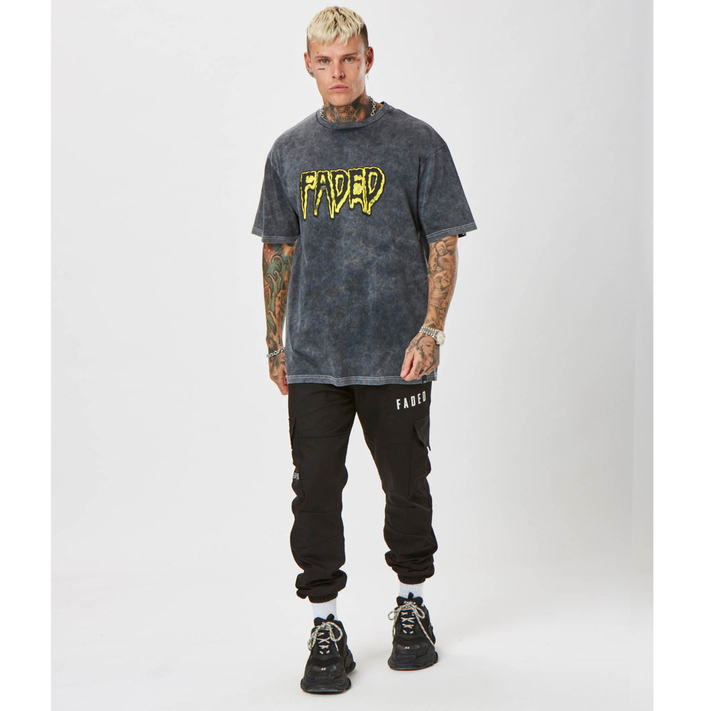 Horror Tee | Acid Wash