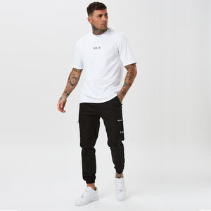 Ringer t-shirt from FADED in white