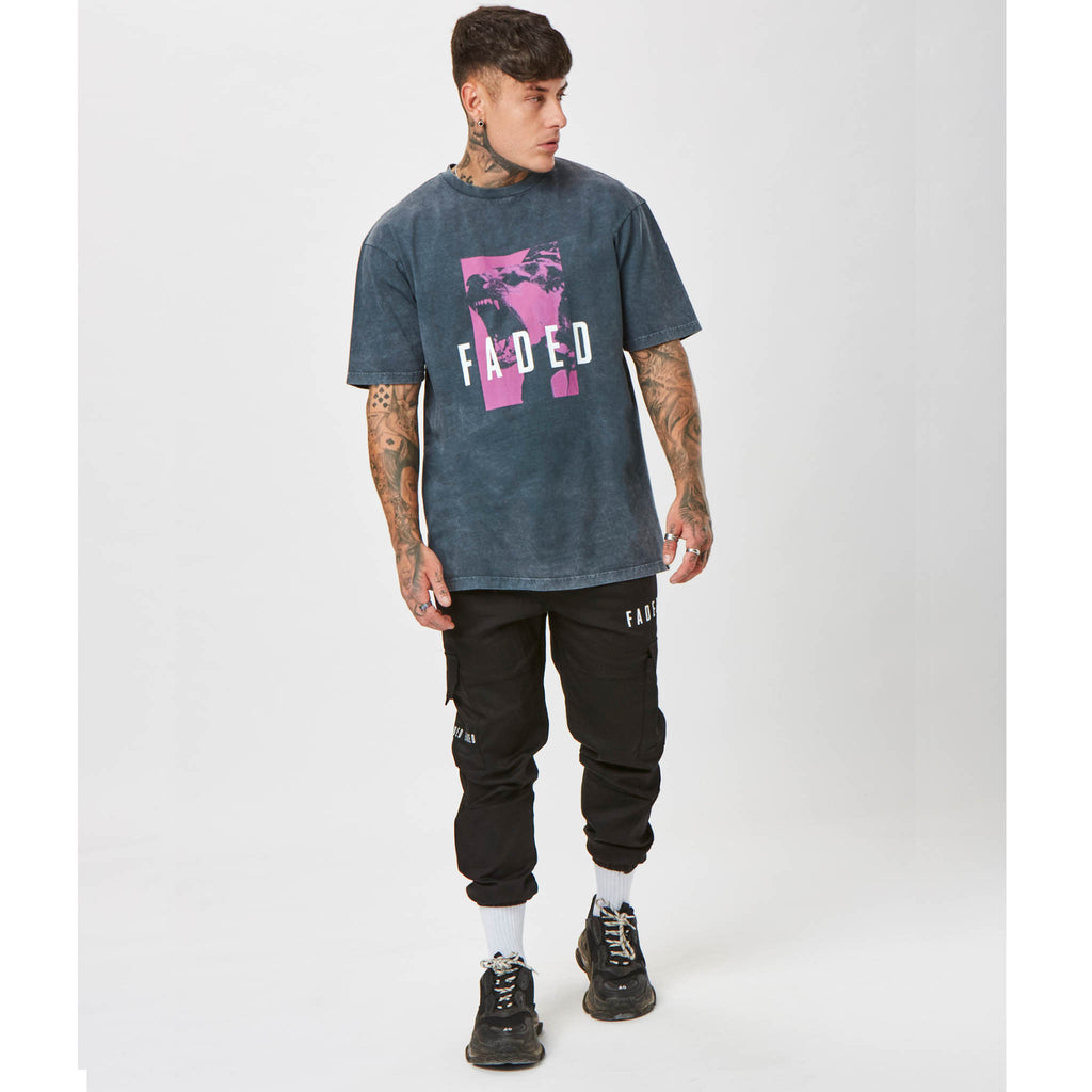 Barking Tee | Acid Wash