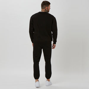Brand of the heavy weight branded jumper and joggers