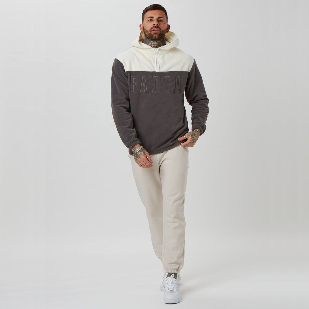 Mens branded hoodie and joggers (teddy fleece)