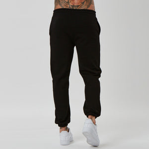 Plain back of mens branded text jogger from FADED