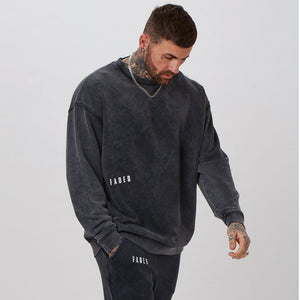 mens venom jumper with branded detail